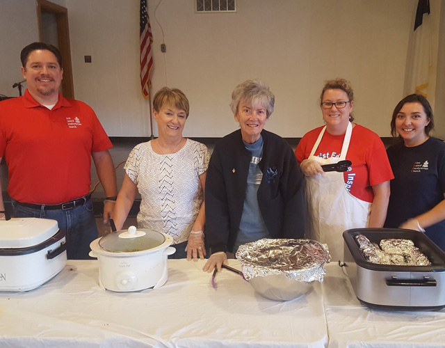 Members of First United Presbyterian Church in Collinsville IL Spirit of Sharing