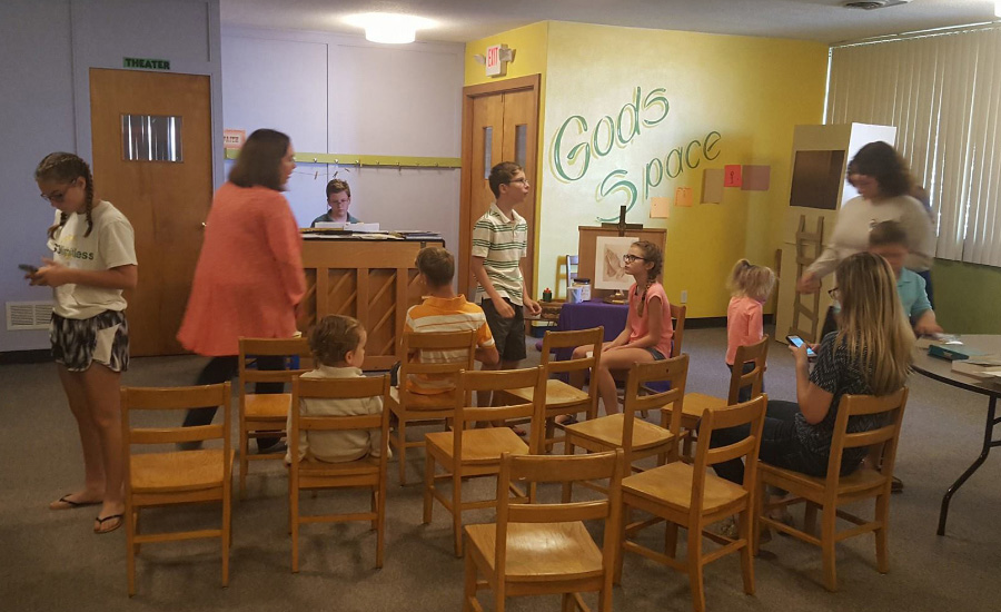 Children's Sunday School at First United Presbyterian Church